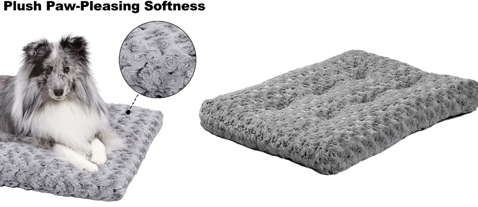 Grey Best Dog Beds for crate