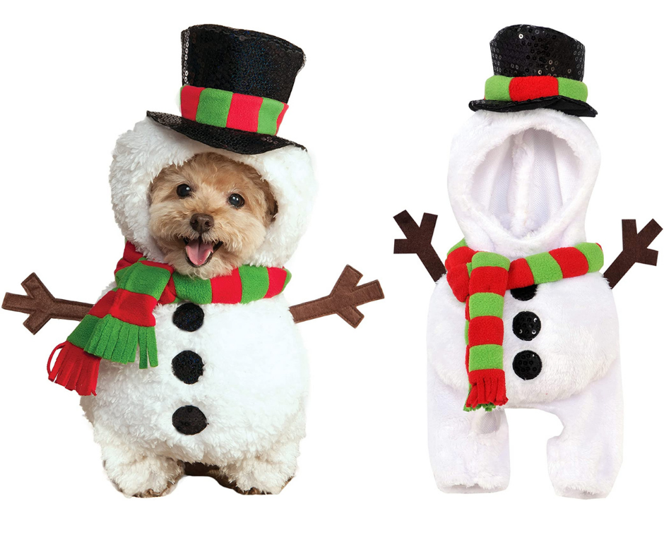 Best Christmas Dog Costumes  snowman